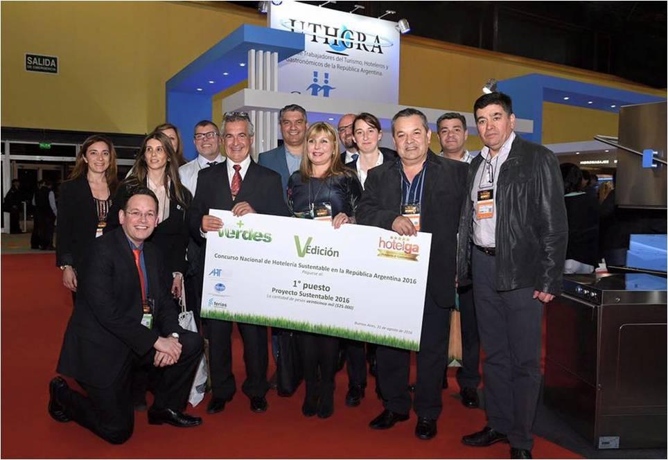 1º Premio Concurso Proyecto Sustentable - Hotelga 2016-2