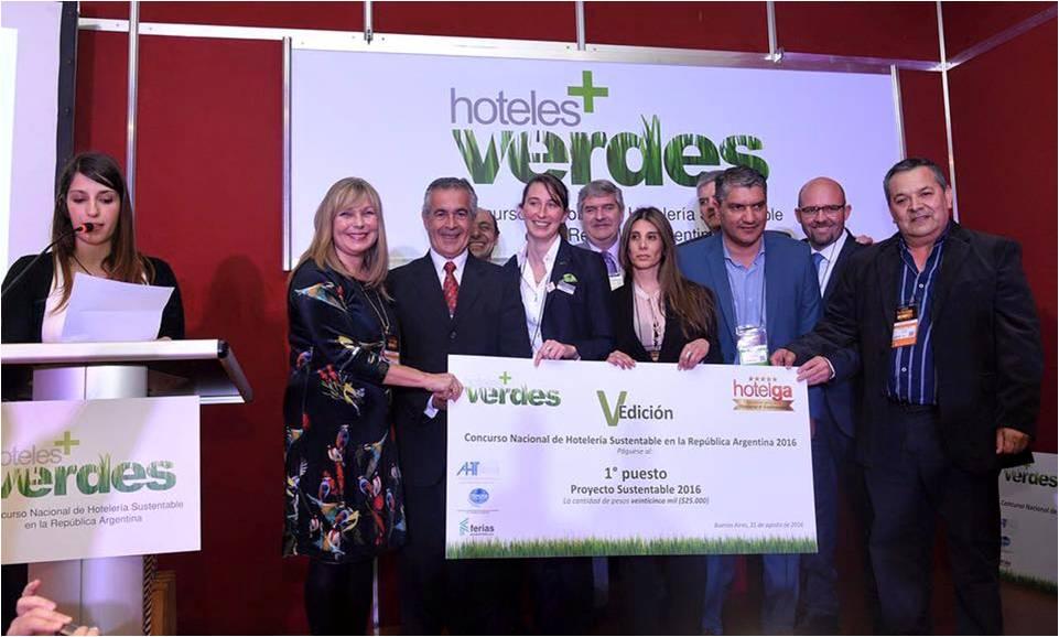 1º Premio Concurso Proyecto Sustentable - Hotelga 2016-3
