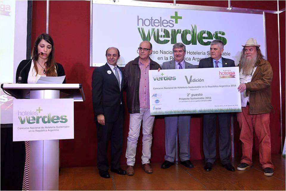 1º Premio Concurso Proyecto Sustentable - Hotelga 2016-7