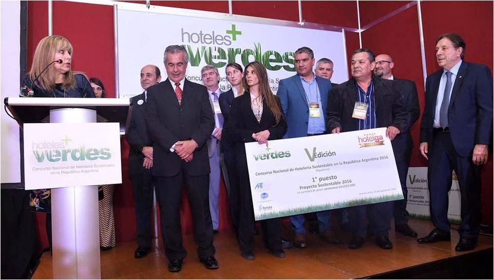 1º Premio Concurso Proyecto Sustentable - Hotelga 2016-8