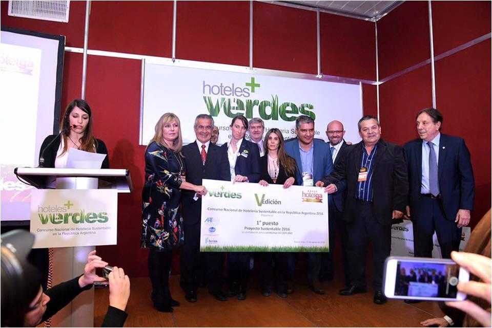 1º Premio Concurso Proyecto Sustentable - Hotelga 2016